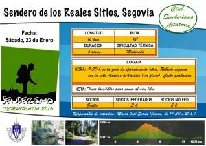 Cartel Sendero Reales Sitios (1)